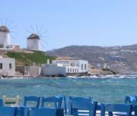 Beside the Sea in Mykonos.