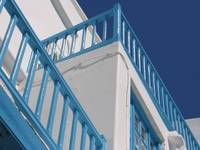 Mykonos Blue Balcony Rails