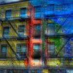 """Village Color Abstract"" by jeffwatts"