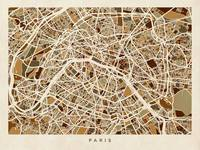 Paris France Street Map