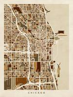 Chicago City Street Map