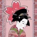 """Cherry Blossom Geisha"" by SharsImagination"
