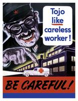 Tojo Like Careless Worker - Be Careful