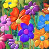 FLOWER POWER Art Prints & Posters by Rita Whaley