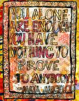 You Alone Are Enough, Inspirational Art