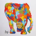 """""""rhino"""" by gallerymay"""