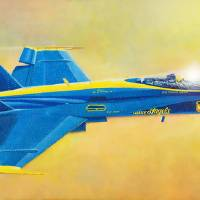 Blue Angel Art Prints & Posters by Douglas Castleman