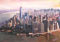 The Unforgettable Skyline Of New York City Manhatt