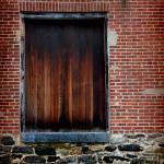 """Wood Window Brick Wall"" by KsWorldArt"