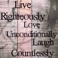 RightOn Way Live Love Laugh