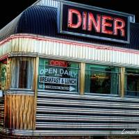 Freehold Diner Art Prints & Posters by Louise Reeves