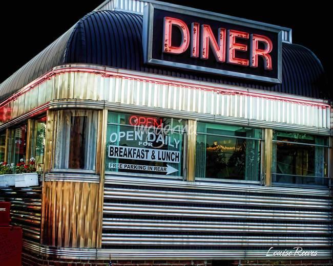 Stunning diners artwork for sale on fine art prints for Diner artwork