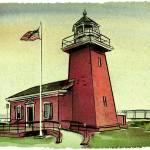 """Santa Cruz Lighthouse"" by russellart"