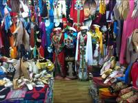 Moroccan clothing shop