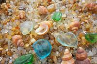 Seaglass Coastal Beach Rock Garden Agates