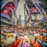 """Yoga Festival Times Square"" by etravus"