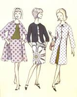 Sewing Pattern Artwork 2