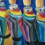 """Colorful Umbrellas"" by mozache"