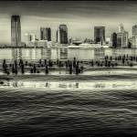 """Looking across the Hudson"" by etravus"