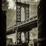 """Manhattan Bridge Circa 2014"" by etravus"