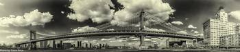 Manhattan Bridge Panorama
