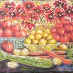 """Fruits, Vegetables & Flowers"" by StoneMeadowGallery"