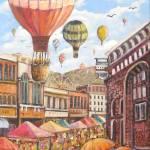 """""""Farmers Market"""" by StoneMeadowGallery"""