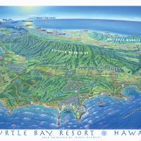 Turtle Bay Resort Art Prints & Posters by James Niehues