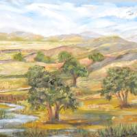 California Oaks Art Prints & Posters by Consuelo Yznaga-Davis
