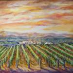"""Buelton Vineyard"" by StoneMeadowGallery"