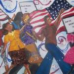 """Freedom Marchers 15x30 Mixed media"" by preacherswifearts"