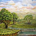 """Santa Ynez Valley Vineyard"" by StoneMeadowGallery"