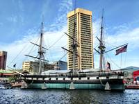USS Constellation in Baltimore