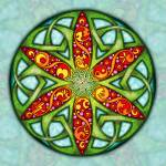 """Celtic Summer Mandala"" by foxvox"