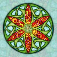 Celtic Summer Mandala
