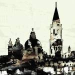 """Classic Venice Modern Art"" by GinetteCallaway"