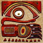 """Chui mtu African Folk Art"" by ReneeLozenGraphics"