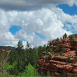 """Red Rock Outcrop"" by WrightFineArt"