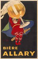 Vintage Advertising Poster - Biere Allary-Linen