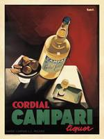 Vintage Advertising Poster - Cordial Campari