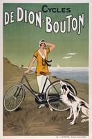 Vintage Advertising Poster - Cycles De Dion-Bouton