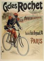 Vintage Advertising Poster - Cycles Rochet