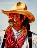 Cowboy With Red Kerchief