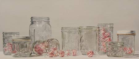 Jars With Peppermints