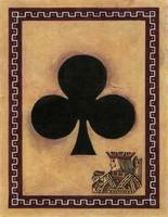 Jack Of Clubs Vintage Playing Card