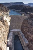Hoover Dam, color photograph