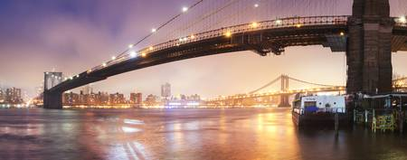 Brooklyn Bridge Panoramic I