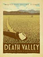 Death Valley National Park Retro Travel Poster