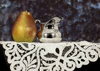 Pear And Silver Creamer