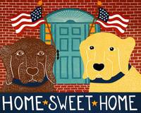 Home Sweet Home Choc Yellow